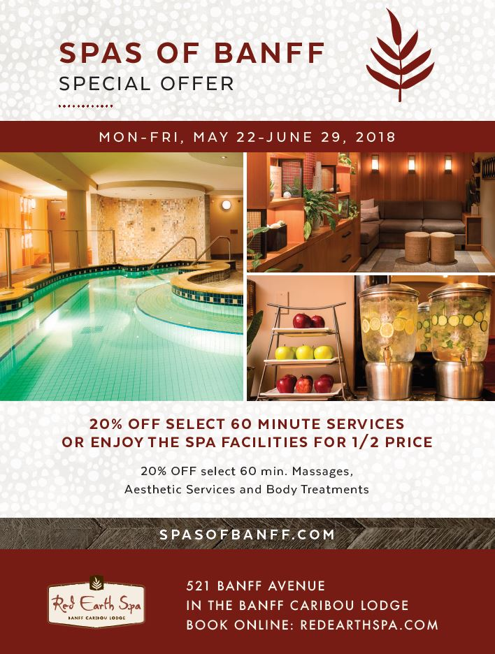 Red Earth Spa, Full Service Spa in The Banff Caribou Lodge - photo #14